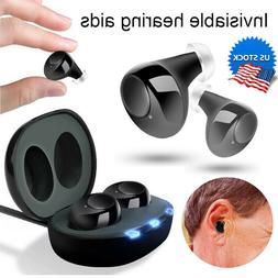 Rechargeable Wireless CIC Hearing Aids Amplifier Assist Mini