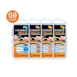 Duracell Size 10 / 13 / 312 / 675 Activair Hearing Aid Batte