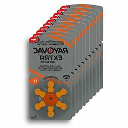 Rayovac Size 13 Hearing Aid Battery 10-Packs of 6 Cells