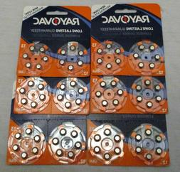 Size 13 Rayovac long lasting Hearing Aid Batteries