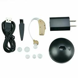 Sound Voice Amplifier Kit Rechargeable Behind The Ear Digita