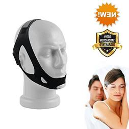 Stop Snore Chin Strap for Snoring - Adjustable Anti Snore St