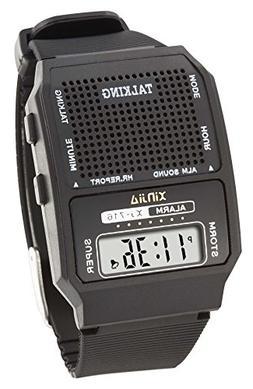 Talking Wrist Watch-English Square Face - World Wide Shippin