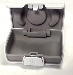 Unitron White Hearing Aid Case- Size Small