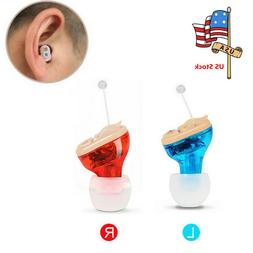 US 1x Invisible In Ear CIC Hearing Aid Aids Small Sound Voic