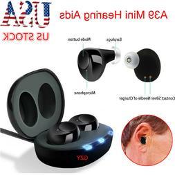 US A39 Mini Hearing Aids Sound Voice Enhancer Amplifier Assi