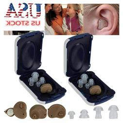 US Invisible Hearing Aids Mini Rechargeable Digital Tone Sou