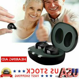 us mini rechargeable hearing aid earbuds sound