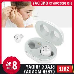 USA 1Pair Invisible Digital Mini Ear Hearing Aids Enhancer S