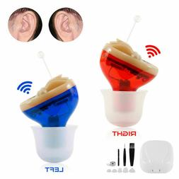 USA CIC Invisible Hearing Aid Mini In Ear Aids Sound Voice A