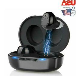USA Mini Invisible Hearing Aid CIC Sound Voice Amplifier Enh