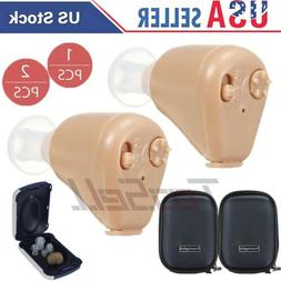 USA Rechargeable Hearing Aid Wireless Mini In-Ear Hearing Am