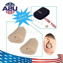 USA Rechargeable ITE Hearing Aid Wireless Mini In-Ear Hearin