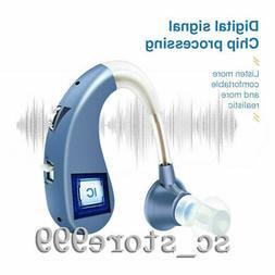 USB Rechargeable Wireless bluetooth Digital BTE Hearing Ear