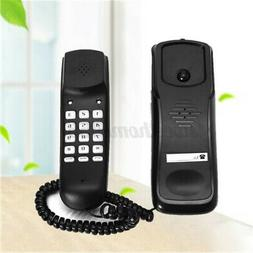 Wired Wall Mount Phone Corded Landline Handle Fixed Desktops