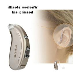 Wireless Digital Hearing Aid Severe Loss Invisible Behind Th