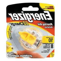 Energizer Zero Mercury Hearing Aid Batteries Size 10 8 EA -