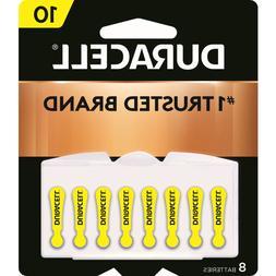 Duracell Zinc Air Hearing Aid Battery 1.4 V Model Da 10 Pack